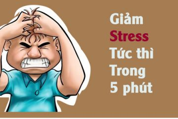 Giảm stress tức thì trong 5 phút