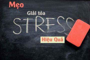Mẹo giải tỏa stress hiệu quải