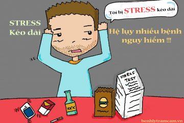 Stress kéo dài – Hệ lụy nhiều bệnh nguy hiểm