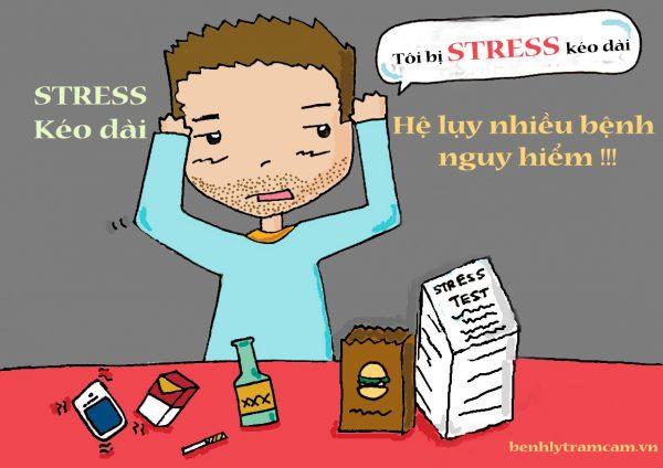 Stress kéo dài những hệ lụy nguy hiểm