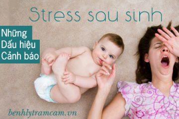 Stress sau sinh và những dấu hiệu cảnh báo